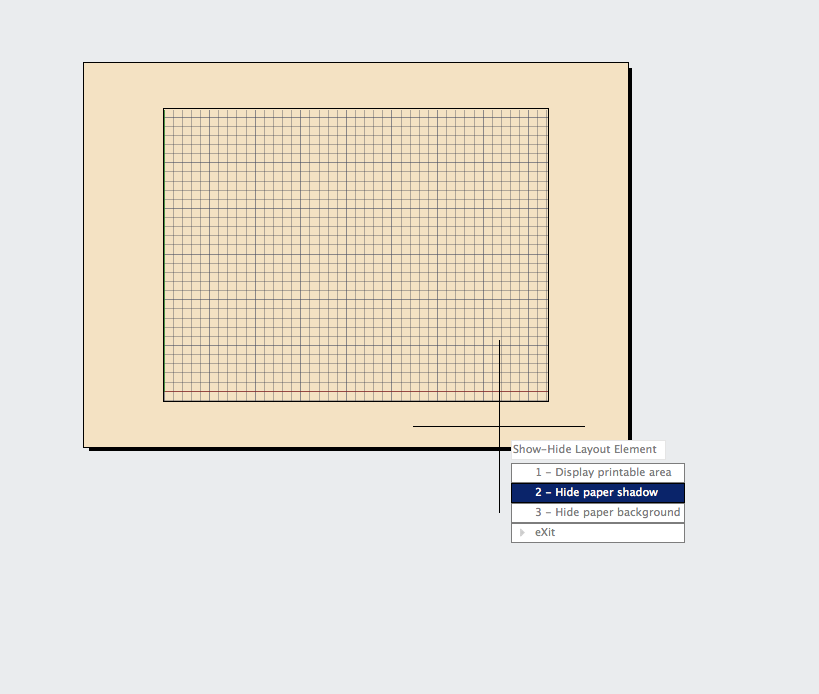 Uniform Layout Background in AutoCAD for Mac and AutoCAD LT for Mac
